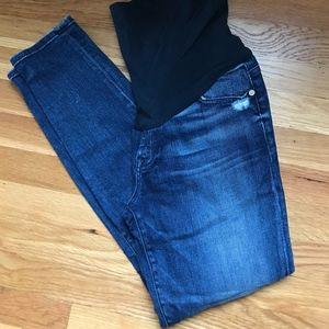 7 For All Mankind Ankle Maternity Jeans - 29